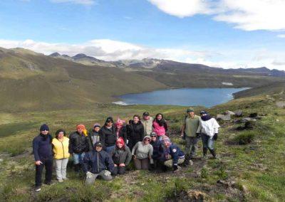 Gran experiencia de alta montaña, en un recorrido guiado de solo 3 km, sensibilización e interpretación ambiental. ¡Prepárate para ver hermosos paisajes!